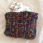 10色の細い毛糸をミックス。オリジナルって嬉しい!