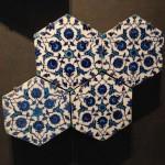ルーブル美術館で見たイスラム圏の昔のタイル