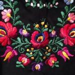ハンガリーの伝統的な刺繍、カロチャ