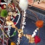 スロヴァチカという、ブルガリアの伝統的なクリスマス飾りです