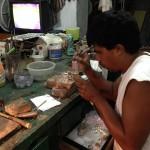 タスコにて、銀細工の工房に行きました。 http://mikutabi.minibird.jp/2014/07/14/銀細工の魅力にハマる/