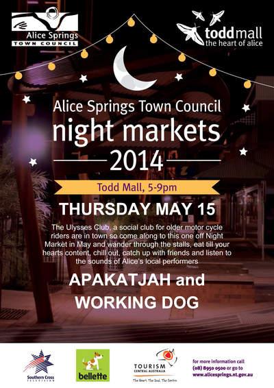 ASTC May Night Market poster