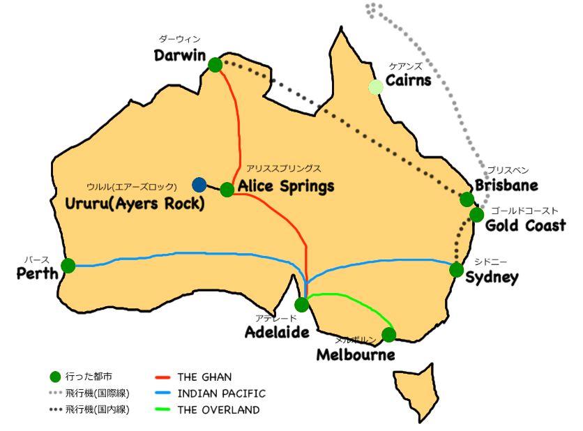 australia map1